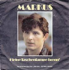 """Single 7"""" - Markus """"Kleine Taschenlampe brenn // Ich bin heut böse"""""""