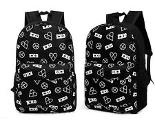 EXO chanyeol luhan BLACK Backpack bag Schoolbag exodus EXO-K EXO-M KPOP NEW