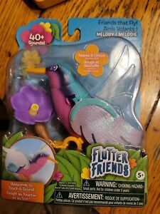 Flutter Friends  Melody Hummingbird Respond to Touch and Sounds