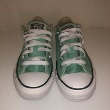 Converse All Star Women's Shoes Size 7 Teal Canvas Athletic Chuck Taylor