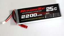 RoaringTop LiPo Battery Pack 25C 2200mAh 2S 7.4V with JST Plug