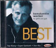 Wecker,Konstantin Es Geht Uns Gut (Best) Zounds CD