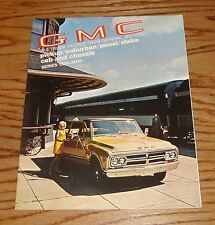Original 1970 GMC Truck Pickup Suburban Panel Stake Cab Chassis Sales Brochure