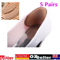 5Pairs Extra Sticky Fabric Shoe Heel Inserts Insoles Pads Cushion Grips