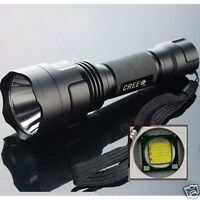 500LM C8-T6  XM-L T6 5-mode Lumens LED 100 Aluminium Flashlight Torch Lamp