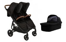 Valco Snap DUO Trend Stroller and Bassinet in Nite Black Brand New!!
