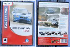 Jeu vidéo dvd rom pour PC, Colin Mcrae Rally 2005, Codemasters,