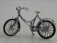Silver Novelty Miniature Bicycle