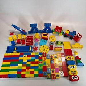 HUGE Lego Duplo Brick Bundle 156 Pcs Train & Special Pieces VGC - FAST POST