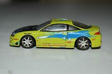 1995 Racing Champions Fast & Furious Mitsubishi Eclipse Paul Walker Diecast 1/64