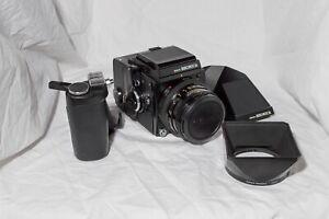 Bronica SQA Medium Format Film Camera w/accessories