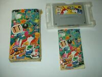Super Bomberman 5 Boxed with Manual Nintendo Famicom SFC Japan import