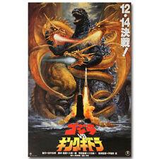 Godzilla vs King Ghidorah Japanese Movie Silk Poster 12x18 24x36 inch