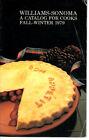 Williams - Sonoma catalog A Catalog For Cooks Fall-Winter 1979 Wusthof Cuisinart