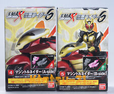 SHODO-X KAMEN RIDER 6 Action Figure #4&5 Machine Tornader set BANDAI Candy toy