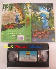 film VHS cartone LA FORESTA MAGICA Lanterna magica   (F68) no dvd