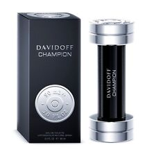DAVIDOFF CHAMPION MEN PERFUME EDT SPRAY BIG 90 ML/ 3 OZ SEALED BOX