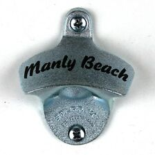 """New """"manly beach"""" Starr X wall mounted beer bottle opener bar decor"""