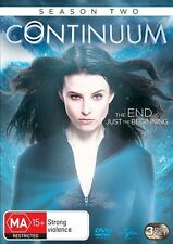 Continuum: Season 2 DVD NEW