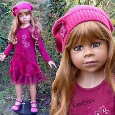 "Masterpiece Dolls Gianna, Light Brown Hair by Monika Levenig 44"" Full Vinyl"