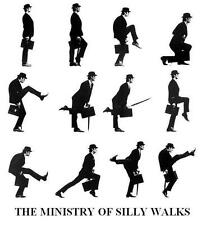 Monty Python # 10 - 8 x 10 Tee Shirt Iron On Transfer Ministry of Silly Walks