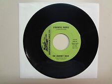 "JOURNEY BACK:Synthetic People 2:42-Run Away Baby 2:37-U.S.7""1968 Nottingham Disc"