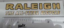 Raleigh The All-Steel Bicycle decal
