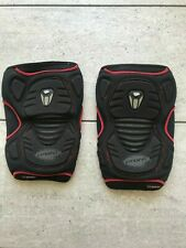 Proto paintball knee pads black/ red size Large