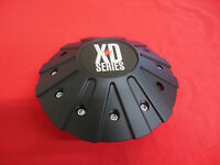 KMC XD  Custom Aftermarket Wheel Center Cap Satin Black Finish 846L215