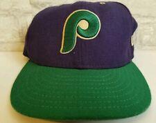 Philadelphia Phillies New Era Cooperstown Purple/Green Retro Hat Snapback 7 1/8