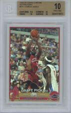 2003-04 Topps Chrome Refractor #111 LeBron James RC Rookie BGS 10 PRISTINE