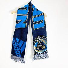 Adidas Philadelphia Union Scarf MLS Major League Soccer Reversible blue