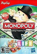 Monopoly and Life - PopCap PC Game Hasbro Classic Board Game