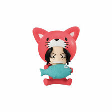 One Piece Cat Costume Nyan Mascot PVC Desktop SD Figure ~ Portgas D. Ace @10998