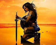 LOT OF 2 USA Wonder Woman  Art Vinyl HQ Decal Stickers 20X20 CM Free shipping!