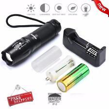 G700 X800 SKYWOLFEYE CREE XML T6 LED Taschenlampe Tactical Zoom Super Bright