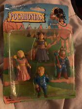 POCAHONTAS PVC figurines 1995 Soma Vintage Rough Package
