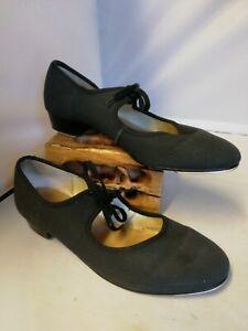 Katz tap shoes size UK 7. 5 Black Ladies