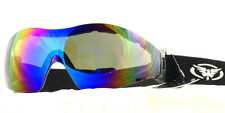 GOGGLES 4 Freefall Skydiving Paragliding Parachuting Para Sports Free Pouch