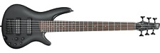 Ibanez SR306EB-WK SR 6-string Electric Bass Guitar (Weathered Black)