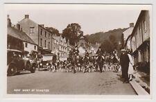 Somerset postcard - Hunt Meet at Dunster - RP