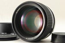 [Top Mint] Nikon Ai-s Ais Nikkor 85mm f1.4 MF + HN-20 Lens hood From Japan #108