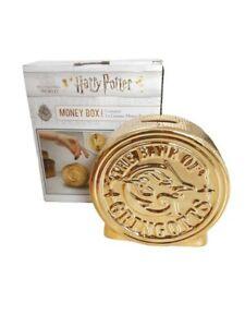 Harry Potter The Bank of Gringotts Ceramic Money Box NEW FREE POSTAGE