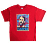 Philadelphia Phillies Bryce Harper Abstract Face T-Shirt Sizes S,M,L,XL (RED)