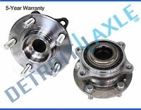 Set (2) NEW REAR Wheel Hub and Bearing Assembly for Hyundai and Kia - AWD ONLY