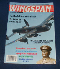 WINGSPAN MAGAZINE MAY 1992 - A MEDAL HAS TWO FACES