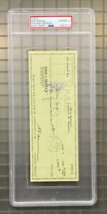 Rod Serling THE TWILIGHT ZONE Signed Check Autograph PSA/DNA 10 AUTO GRADE LOA