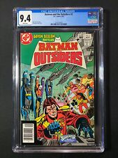 Batman and the Outsiders #2 CGC 9.4 (1983) - Newsstand Edition