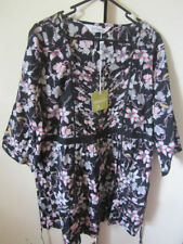 Batwing, Dolman Sleeve Floral 100% Cotton Tops & Blouses for Women