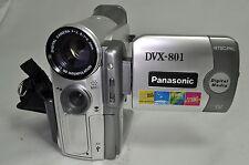 Panasonic DVX-801 camcorder MiniDV NTSC/PAL Dual System - untested no charger